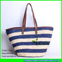 China LUDA handmade bags women's handbags purse wholesale cornhusk straw bags on sale
