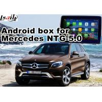 Quality Android GPS navigation box interface for mercedes benz NTG5.0 with rear view WiFi mirror link cast screen for sale
