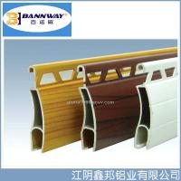 Buy White Color Painting Roller Shutter Door Aluminium Profiles at wholesale prices