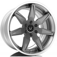 China Custom 2 Piece Forged Wheels For Inner Barrel, T6061 Car Rim For Slant Lip, Step Lip For T6061 Forged Wheels on sale