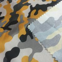 Quality Fashion Polyester Material Fabric 240T Pongee Transfer Printed Fabric 150cm Width for sale