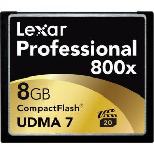 Buy cheap Lexar 8GB CF Card Professional 800x UDMA Price $11.8 product