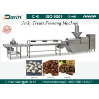 Quality Automatic Meat Jerky Treat Forming Machine / Pet Food Production Line with ABB or Schneider Electric parts for sale