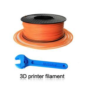 Quality Orange Fluorescent PLA 3D Printer Filament For 3D Printer Printing for sale