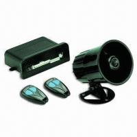 Quality Car Alarm System with Remote Door Lock/Unlock Function and Memory Sector Trigger LED Indicator for sale