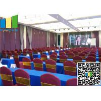 """2 9/16"""" Operable Partitions, Folding Partition Office Partition Walls For Meeting Room"""