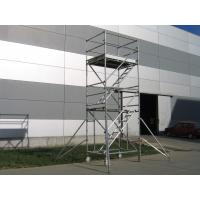 China Stair Tower Rolling Stairway Scaffolding 2kn / ㎡ Cold Formed Jointing System on sale