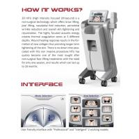 Quality wholesale 3D/4D HIFU focused ultrasound professional in face lift/body slimming beauty machine for sale