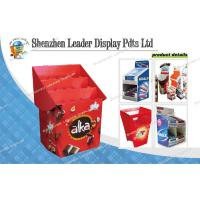 Quality Durable Pos Display Stands With 3 Shelves For Candy / Cookies Promotion for sale