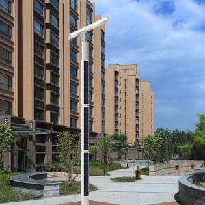 Buy cheap High Pole Solar Public Area Light Super Efficient Brightness Solar LED Street from wholesalers