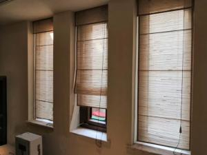 Quality ISO9001 Blackout 1x2.45m Linen Fabric Roller Blind Shades for sale