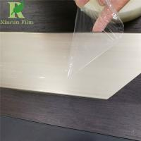 Quality 0.02-0.2mm High Transparent Adhesive Acrylic Sheet Protection Film for sale