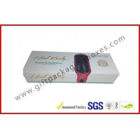 Quality Magnetic gift boxes for hair extension , 1500g Hard board box with logo embossed and foiled for sale