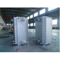 Quality Cement Industries Welded Plate Heat Exchanger Nickel Based Alloy for sale