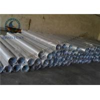 Quality Low Carbon Steel Water Well Pipe , Well Casing Screen 1.0 Mm Slot Size for sale