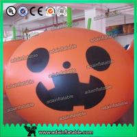 Quality Halloween Decoration Inflatable Pumpkin Helium Balloon for sale