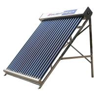 China Rooftop Evacuated Tube Solar Water Heater , 25 Tube Low Pressure Solar Geyser on sale