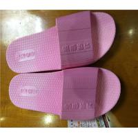 Buy cheap New style ladies flat pvc slippers for footwear and promotion,light and comforatable product