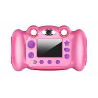 China Shockproof Child Digital Camera , Digital Selfie HD Camera Camcorder 5MP 720P on sale