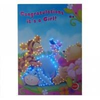 China Paper LED customized Musical Greetings Cards with voice chip for birthday gifts on sale
