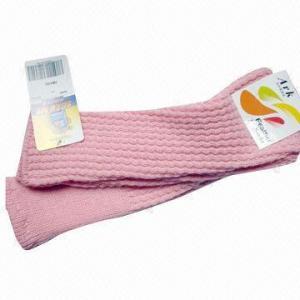 Quality Women's Knee-high Rib Fashion Socks, Legging, Weighs 60g/pair for sale