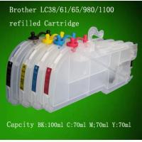 China Refill ink cartridge for Brother (LC38 cartridge) printer on sale