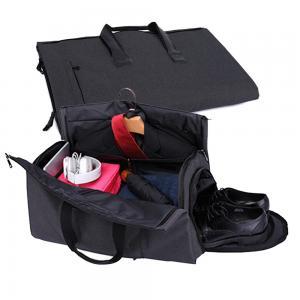 China Wholesale 600D polyester Folding Business Travel Bag Custom Detachable Garment Suit Rolling Duffle bag on sale