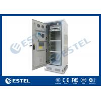China IP65 Thermostatic 19 Equipment Outdoor Telecom Enclosure / Environment Monitoring System on sale