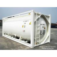 Quality 20FT TANK CONTAINER FOR BULK CEMENT  for sale Portable iso Tank Container  WhatsApp:8615271357675  Skype:tomsongking for sale