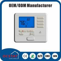 Quality Non-programmable Electric or Gas Room Thermostat with Heating and Cooling Swing Adjustment for sale