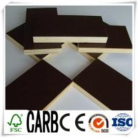 Buy cheap 1220X2440X18mm Black Film Faced Construction Plywood from wholesalers
