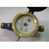 Quality Impeller Type DN25 Multi Jet Water Meters / Single Jet Water Meter With Pulse Output for sale