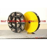 Quality Diamond Metal Polishing Pad - Concrete Grinding for sale
