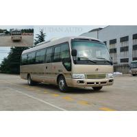 China Luxury Coach Bus In India Coaster Minibus rural coaster type