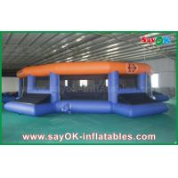 China 12m Giant Outdoor / Indoor Inflatable Football field Customized on sale