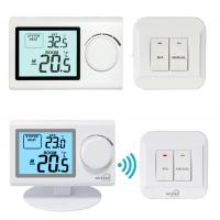 Quality RF 868mhz Remote Sensor Wireless Room Thermostat Easy Installation for sale