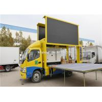 Quality High Brightnessled Advertising Truck With Stage , Mobile Digital Billboard 1 Year Warranty for sale