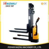 Buy cheap High quality material handling tools 1000kg 1600mm full electric reach stacker from wholesalers