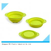 Buy food grade durable Silicone Rubber Products folding basin for household at wholesale prices