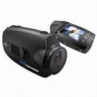 Quality 1080-pixel HD Helmet Camera with 110 Degrees Viewing Angle for sale