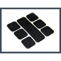 Quality Square back glue punching hook and loop velcro for sale