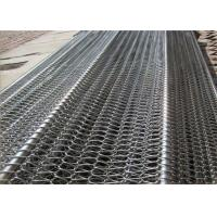 Quality Professional Flat Flex Wire Belt , Stainless Conveyor Belt Balanced For Conveyer for sale