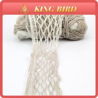 China 100% polyester Fancy Knitting Yarns fancy metal net yarn for hand knitting on sale