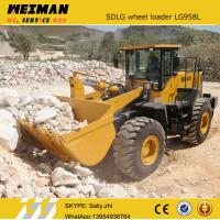 Quality brand new SDLG front bucket loader LG958L with rock bucket 2.0m3 , china construction machinery from chinese supplier for sale