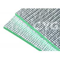 Buy 8mm Grey XPE Construction Heat Insulation Foam Backing Aluminum Foil For Roofing at wholesale prices