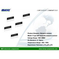 China 200V, -55℃ ~ 125℃ Resistors Network - F Type With Stable Performance for Limited Space PCBs on sale