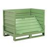Buy cheap Warehouse Metal Storage Bins-folding metal steel storage cage from wholesalers