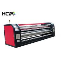 Quality 220V / 380V Roller Heat Press Machine Apparel Calendar Sublimation Fabric Cut Piece for sale