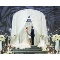 Buy Aluminm stage backdrop wedding decorate Pipe And Drape Wedding Backdrop curtains at wholesale prices