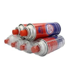 Quality China butane gas cartridge refill 400ml-227g for sale